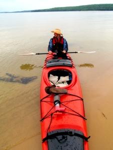 Pictured Rocks National Shoreline, Michigan, Upper Peninsula, kayaking, camping