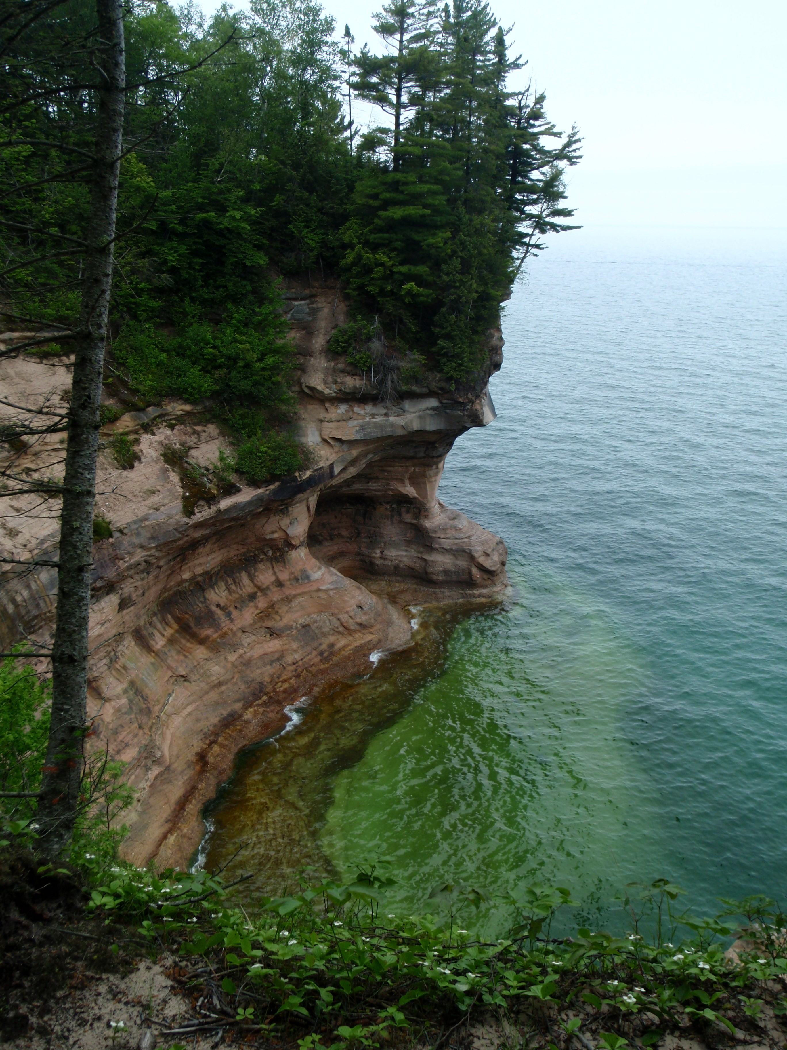 Pictured Rocks National Shoreline backpacking
