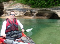 Pictured Rocks National Shoreline Kayaking, Michigan kayaking, lake superior kayaking, michigan kayak camping