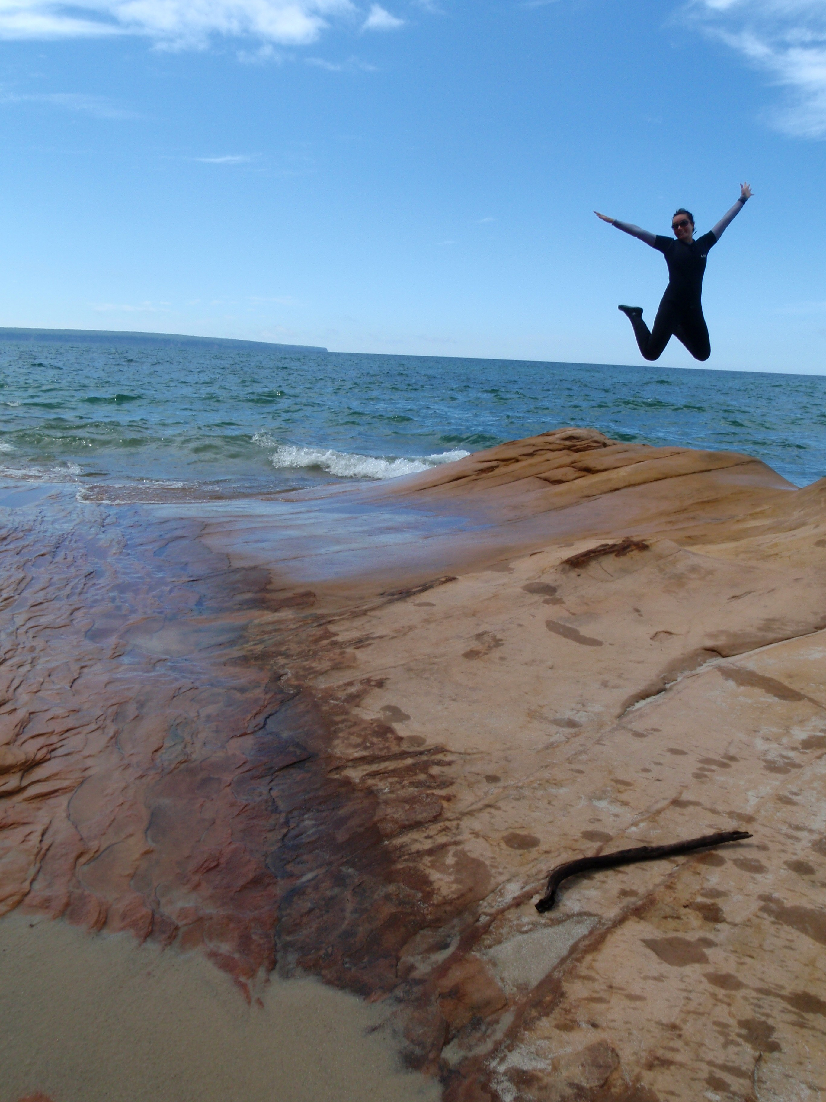 Pictured Rocks National Shoreline Kayaking, Michigan kayaking, lake superior kayaking
