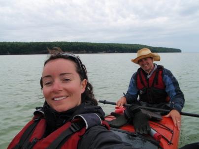 Pictured Rocks National Shoreline Kayaking, Michigan kayaking, lake superior kayaking