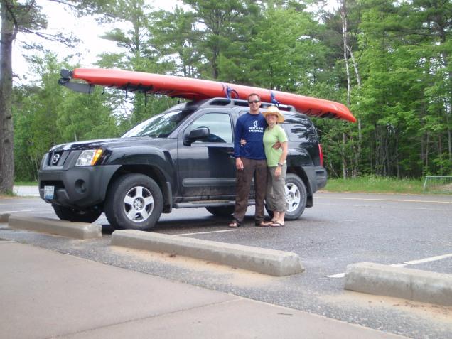 Xterra kayak, michigan kayaking, UP kayaking, lake superior kayaking