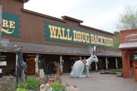 Wall Drug tourist trap, South Dakota tourist trap, what is a jackalope