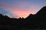 Badlands National Park backpacking, Badlands National Park sunset, South Dakota sunset