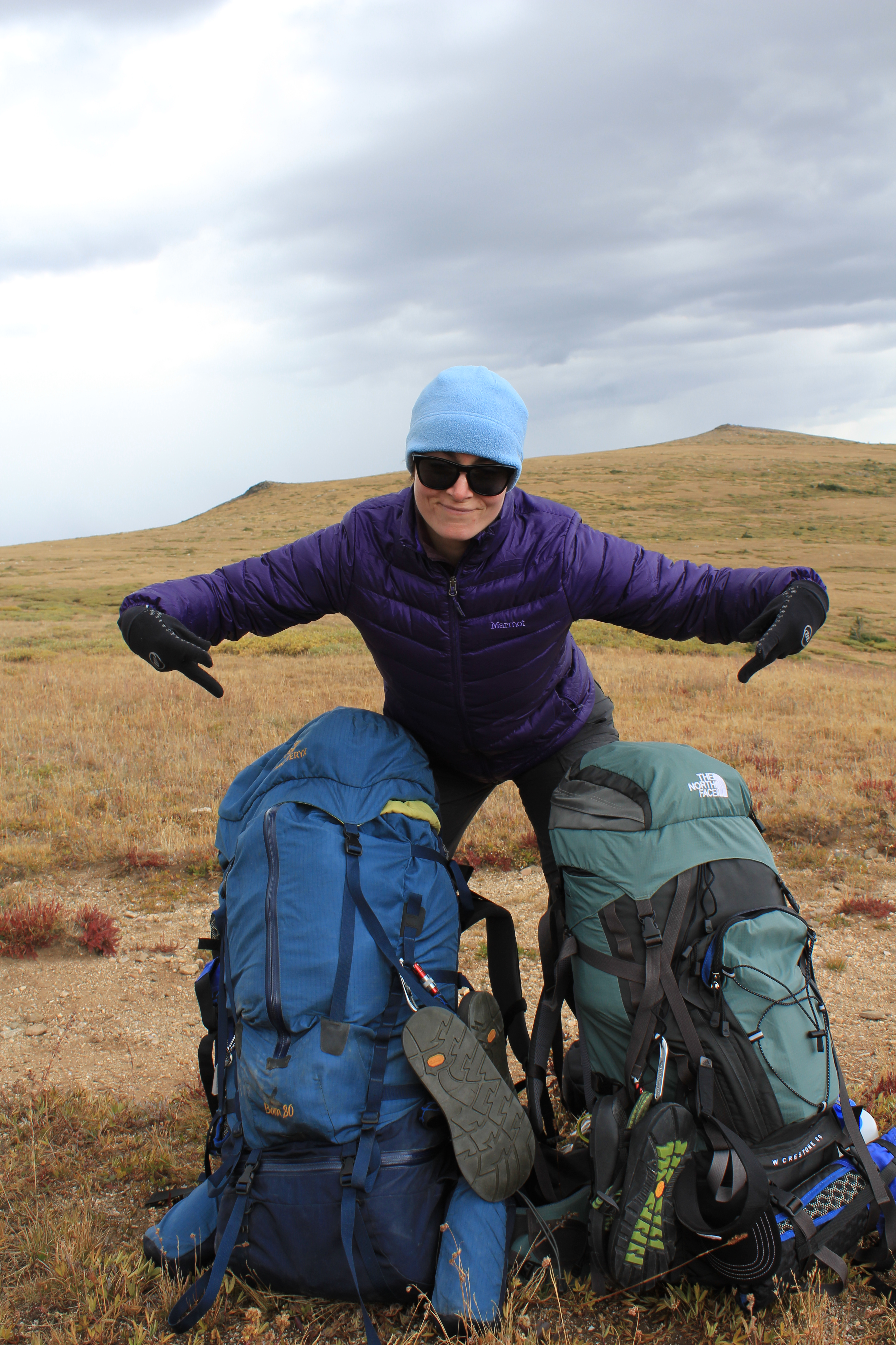 Comanche Peaks Wilderness backpacking, backpacking in september