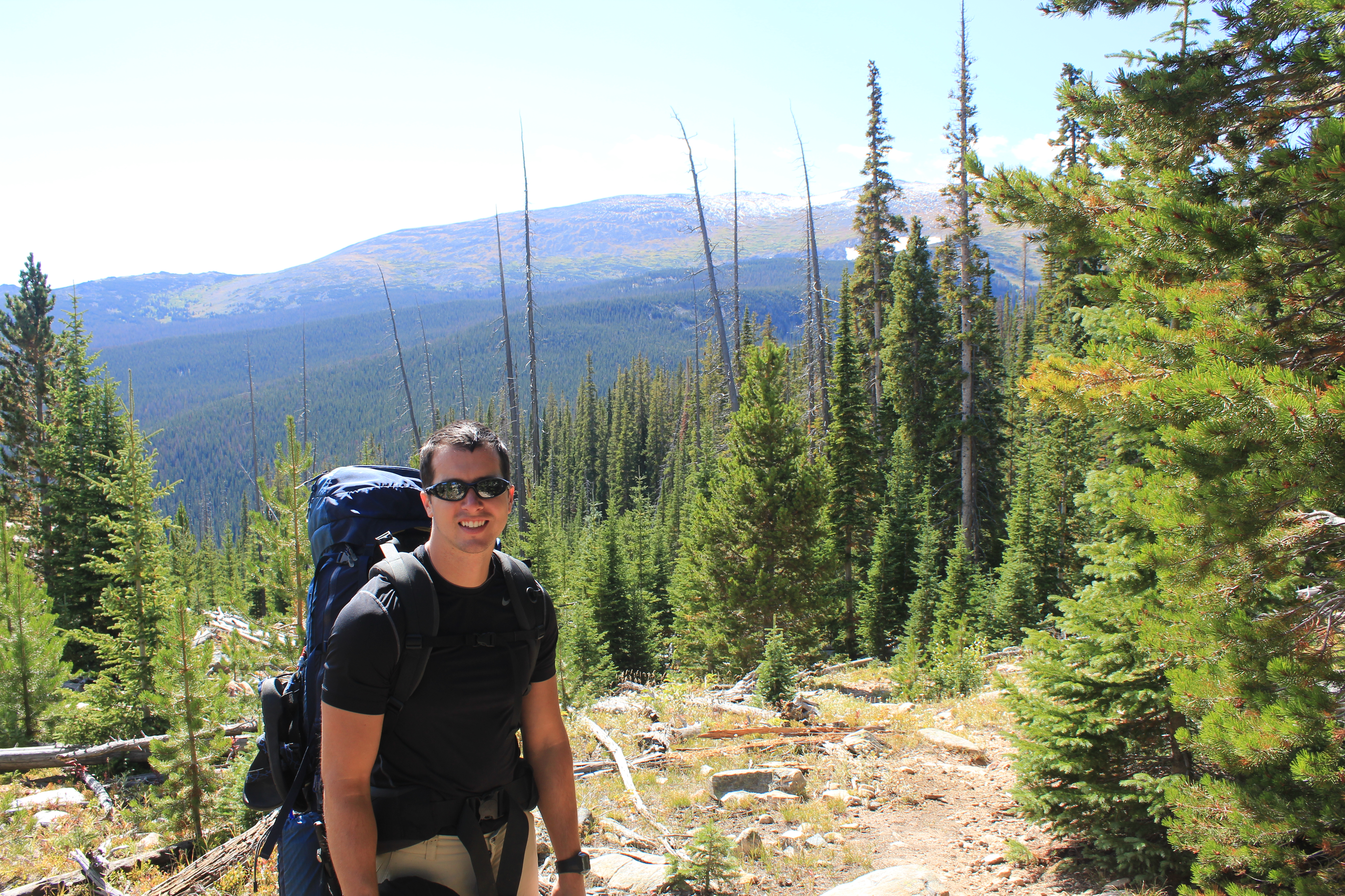 Comanche Peaks Wilderness backpacking