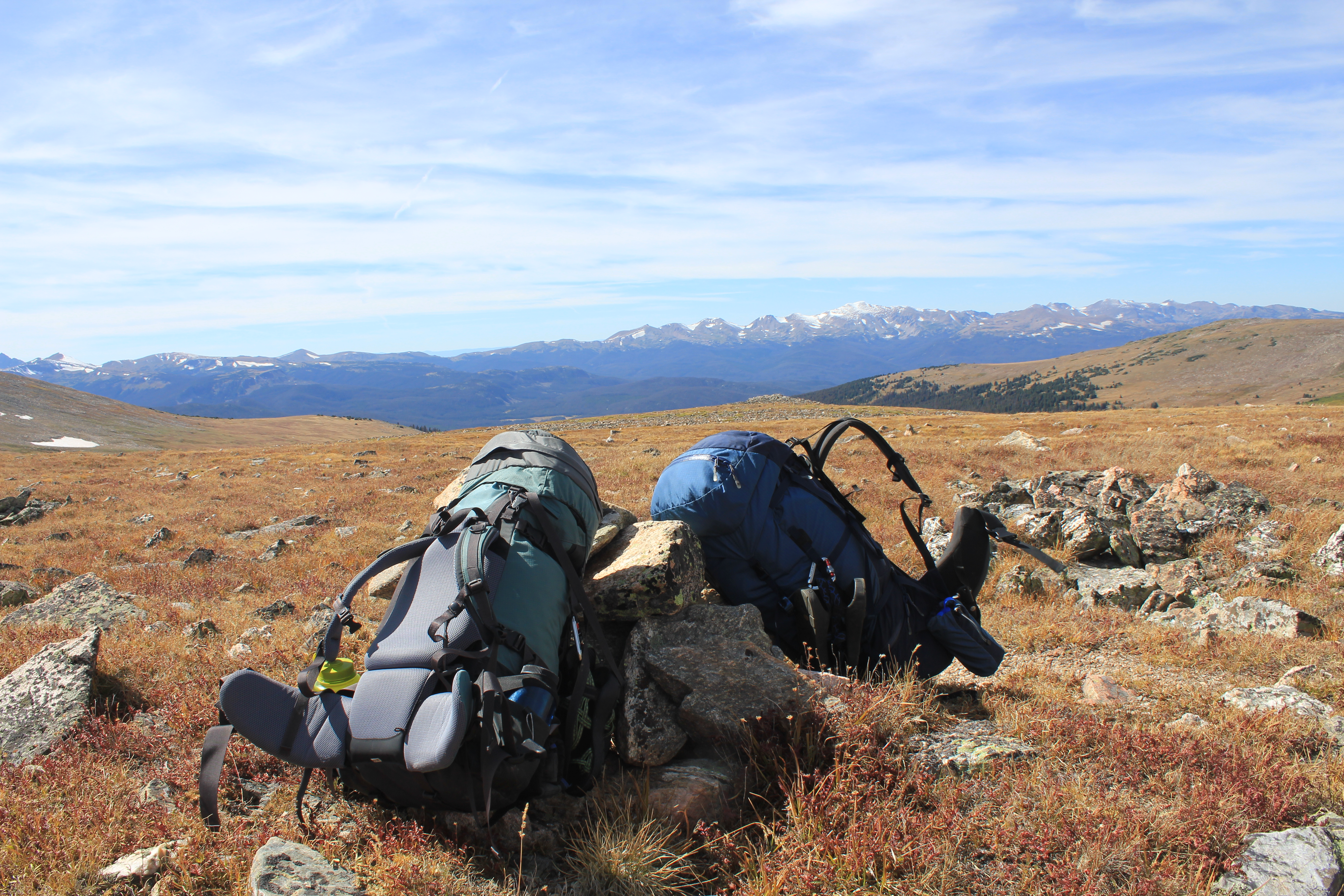 Comanche Peaks Wilderness backpacking, backpacking break, comanche peaks cairns