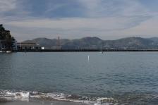 San Francisco Bay in december