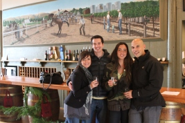 Larson Family Winery sonoma, Larson Family Winery tasting, sonoma wine country, sonoma in december