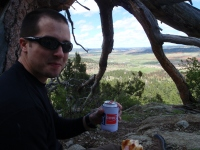 Devils Tower lunch
