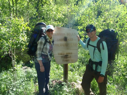 Conundrum Hotsprings trail, Conundrum Hotsprings backpacking