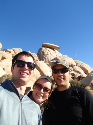 joshua tree in december, joshua tree cap rock, joshua tree selfie