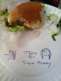 Irv's Burgers Hollywood, Los Angeles sugar momma