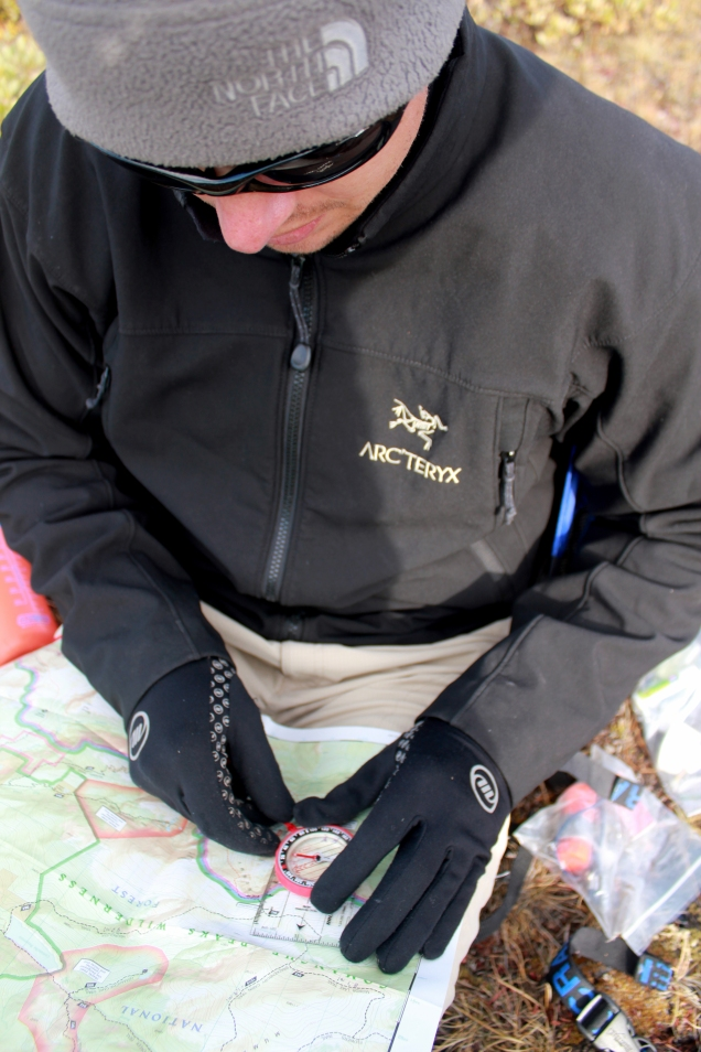 Colorado orienteering, backpacking orienteering, map and compass, colorado routfinding