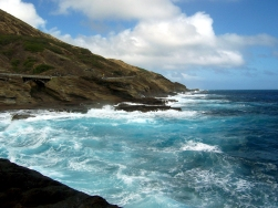 Oahu road trip, Oahu big waves, Oahu scenic drive