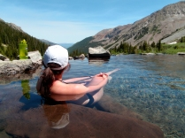 Conundrum Hotsprings backpacking, Conundrum Hotsprings camping