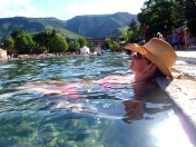 Glenwood Springs hotsprings, hotsprings pool, Colorado relaxation