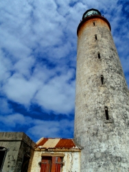 ragged point lighthouse, barbados ragged point