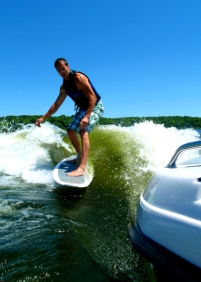 wakesurfing in wisconsin