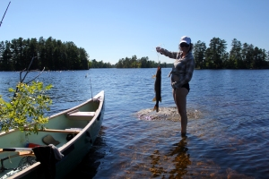 Boundary Waters, Lac La Croix, canoeing, camping, fishing, pike