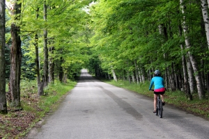 Washington Island, Door County, WI, biking