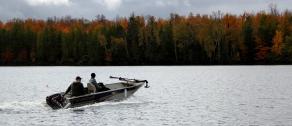 Boot Lake Wisconsin, wisconsin musky fishing, wisconsin fall fishing, wisconsin fall colors, autumn lake