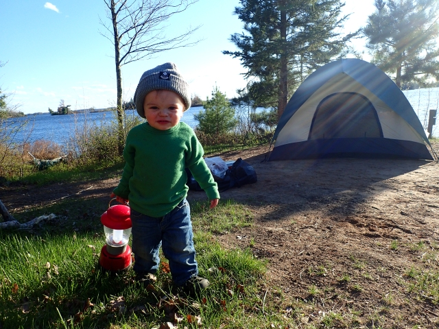 Flambeau Flowage, camping with a toddler, canoeing with a toddler, northern wisconsin, spring