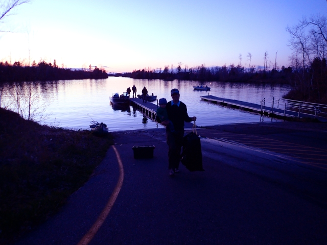 Flambeau Flowage boat launch, wisconsin canoeing, camping with a toddler, canoeing with a toddler