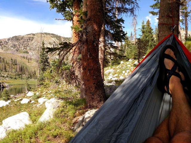 mica lake, mica lake backpacking, eno double nest, steamboat springs backpacking