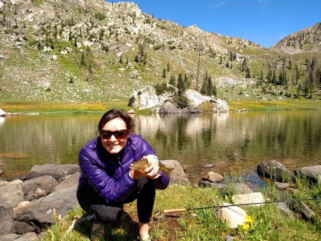 mica lake fishing, steamboat springs fishing, mica lake backpacking