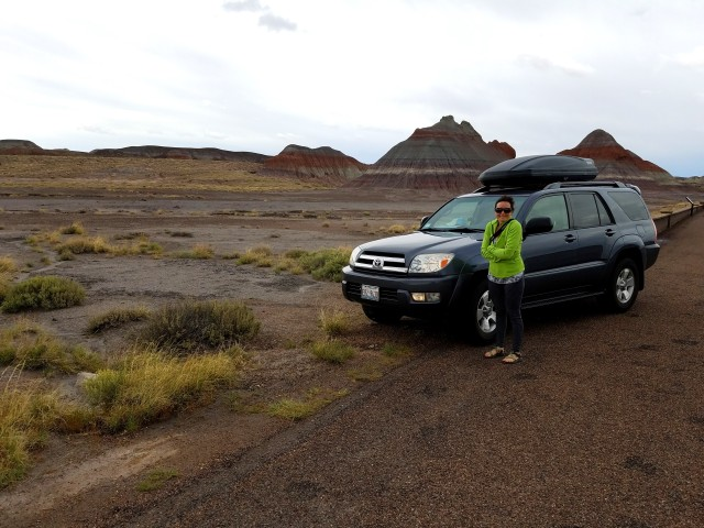 petrifiedforest, petrifiedforestnationalpark, national park, arizona, az, toyota, 4runner