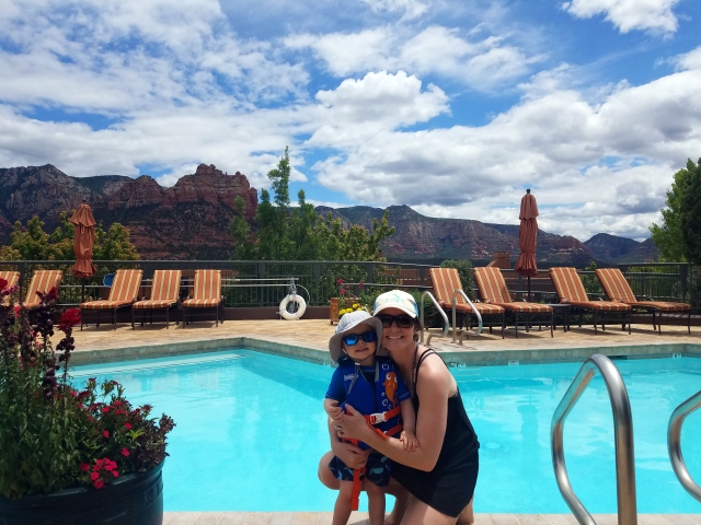 sedona, az, hyattpinionpointe, pool, redrocks, epicview