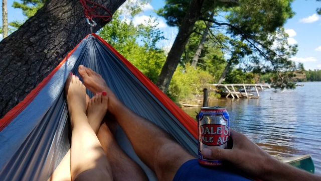 eno, eno outfitters, eno double, dales pale ale, oskar blues, flambeau flowage, turtle flambeau flowage, flambeau flowage camping, northern wisconsin, northwoods