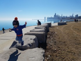 chicago, chicago il, chicago lakefront, citykid, lake michigan, chicago cubs, jumping