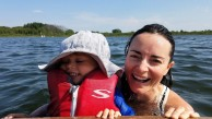 turtle lake, wisconsin, boating, swimming, summer, adventure mom, nautique, lake life