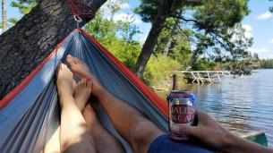 turtle flambeau flowage, flambea flowage, flambeau flowage camping, dales pale ale, oskar blues brewery, beer, northwoods, camping, canoe camping