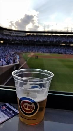 wrigley field, cubs playoffs, cubs 2017, wrigley sunset, cubs playoffs, cubs sunset, chicago cubs, chicago, lakeview