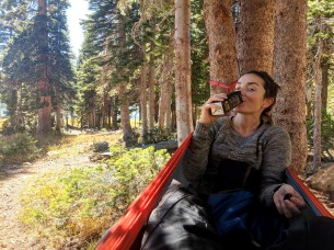 eno hammocks, hammock, backpacking, crater lakes, backpacking treat