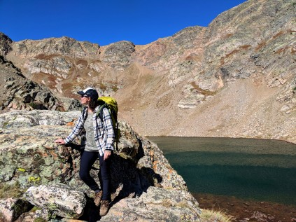crater lakes, upper crater lakes, backpacking, camping, denver backpacking, boulder backpacking