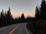 mountain sunset, road sunset, brainard lake,