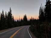 mountain sunset, road sunset, brainard lake,