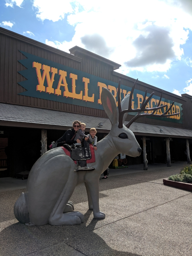 wall drug sd, wall drug backyard, south dakota, road trip, south dakota road trip