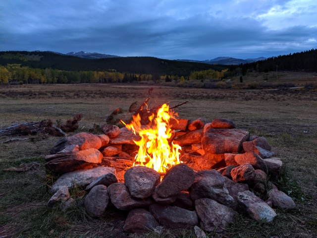dirt road camping, national forest camping, bighorn national forest, bighorn mountains, fire ring